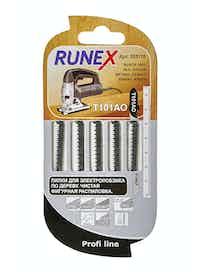 Пилки для чистого фигурного распила Runex Т101АО, 75 x 50 мм, 5 шт.