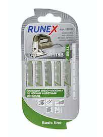 Пилки для толстых материалов Runex HSS T118B, 75 x 50 мм