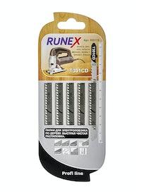 Пилки для быстрого чистого распила Runex T301CD, 5 шт.