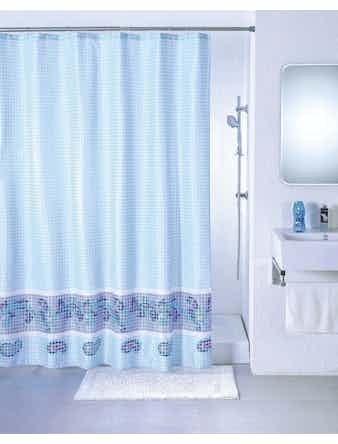 Штора для ванной, blue fresco, SCMI011P