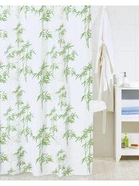 Штора для ванной комнаты Bamboo Leaf SCID010P, 200 х 200 см