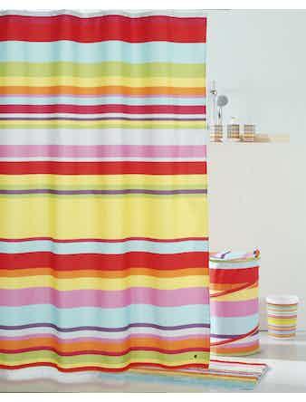 Штора д/ванной,Summer stripes,290P24RI11