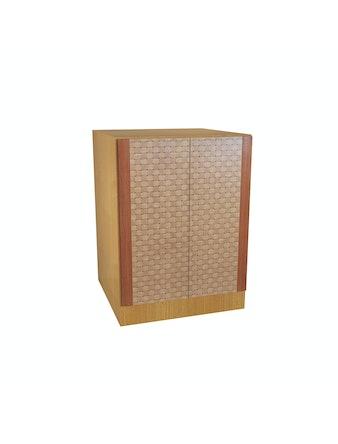 Шкаф напольный №46, 60 см, ольха