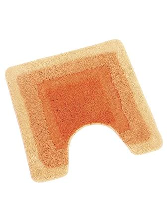 Коврик для туалета Wess Belorr, оранжевый, 50 х 50 см