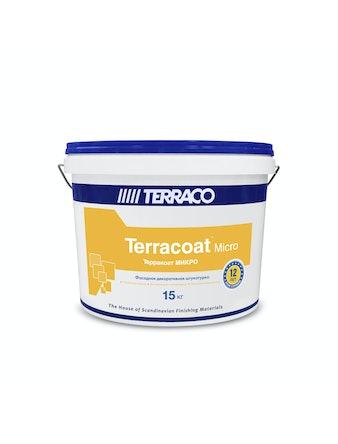 Штукатурка декоративная для внутренних и фасадных работ Терракоат микро 2100 15 кг