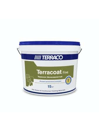 Штукатурка декоративная для внутренних и фасадных работ Терракоат мелкозернистый 2100 15 кг