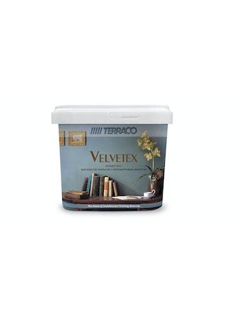 Краска декоративная для внутренних работ Вельветекс VА 140 Terraco 1 кг