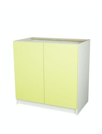 Шкаф напольный, Лимон, 80 х 45 х 80 см, 2 дверцы
