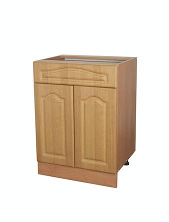 Шкаф напольный Ольха, 60 х 82 х 45 см, 1 ящик