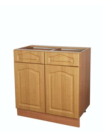 Шкаф напольный, Ольха, 80 х 82 х 45 см, 2 ящика