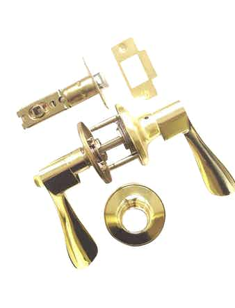 Ручка Bussare с фиксатором WC золото