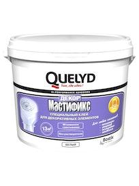 Клей монтажный Quelyd Мастификс Декор, белый, 4,5 кг