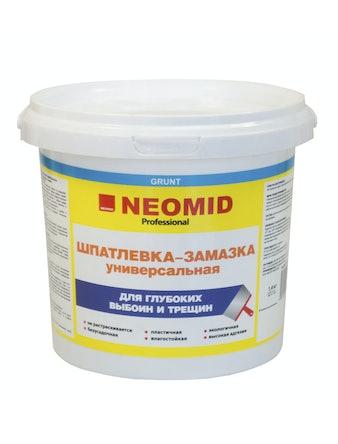 Шпатлевка для глубоких выбоин и трещин Neomid, 5 кг