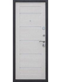 Дверь входная металлическая Status 5, 960 x 2050 мм, эшвайт, левая