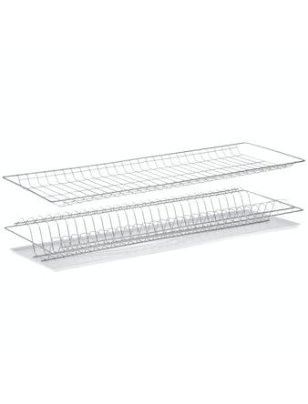 Сушка для посуды в шкаф, 80 см, белая