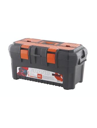Ящик для инструментов Grand 22,5 оранжевый