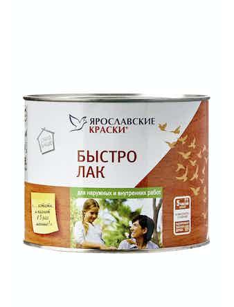 Быстролак бесцветный Ярославские краски, 1,7 кг