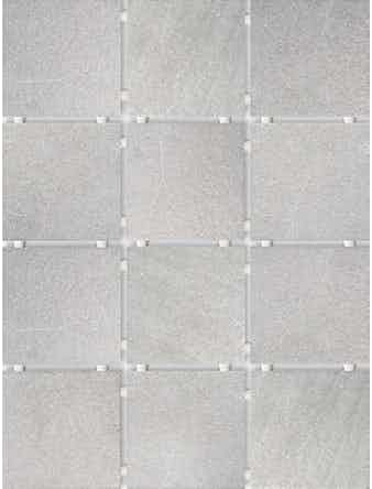 Настенная плитка Караоке 1220T серая, 9,9 х 9,9 см