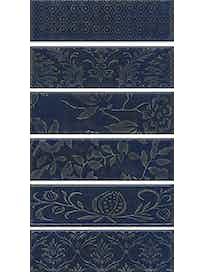Декор Kerama Marazzi Кампьелло AD\B333, синий, 51 х 28 см