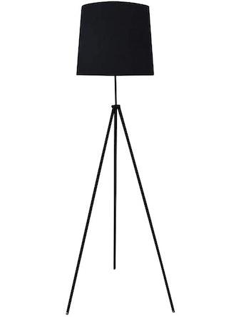Торшер Lussole LSP-0501, 60 Вт х Е27, черный