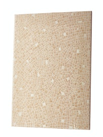 Настенная плитка Ellada, бежевая, 25 х 35 см