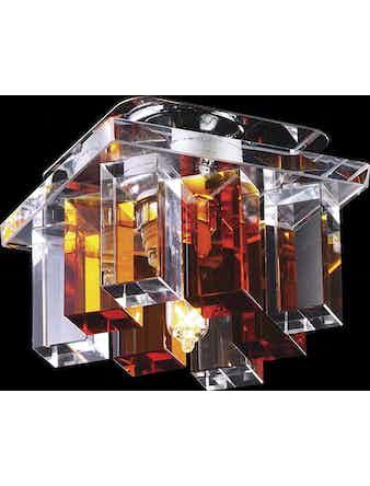Светильник 369368 хром-янтар IP20 G9 40W