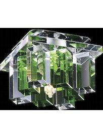 Светильник 369372, хром/зеленый, IP20, 40 Вт х G9