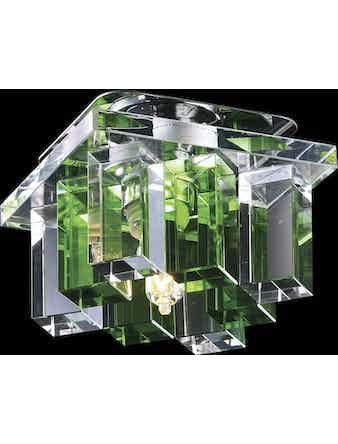 Светильник 369372 хром-зелен IP20 G9 40W