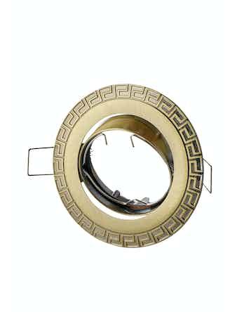 Светильник встраиваемый Novotech 369615, цвет бронза