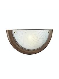 Настенно-потолочный светильник Sonex Vira 058, дерево/венге