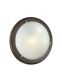 Настенно-потолочный светильник Sonex Vira 158, дерево/венге