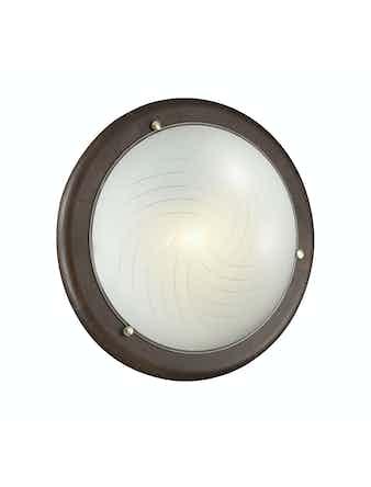 Настенно-потолочный светильник Сонекс VIRA 158 дерево / венге