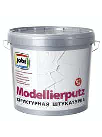 Штукатурка декоративная Jobi Modellierputz 'шероховатая', зерно 0,3 мм, 16 кг