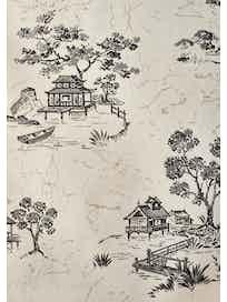 Виниловые обои Erismann Village 1276-5, 0,53 x 10 м, черно-белые