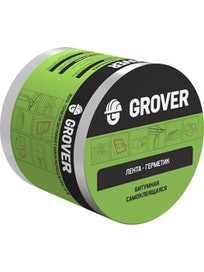 Лента-герметик битумная Grover зеленая 3м х 10см