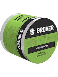 Лента-герметик битумная Grover коричневая 3м х 10см