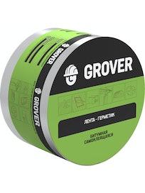 Лента-герметик Grover, красная, 10 м х 10 см