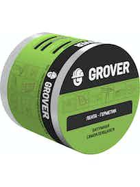 Лента-герметик Grover, серебристая, 10 м х 15 см