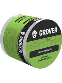 Лента-герметик Grover, коричневая, 10 м х 15 см