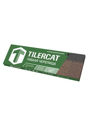 Черепица коньково-карнизная TILERCAT Зеленый & 4К4Е21-1254RUS, 3 м2
