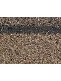 Черепица 1-слойная коньково-карнизная, 3 м2, бронзовый микс