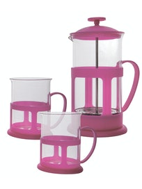 Набор чайный: кофе-пресс и 2 чашки