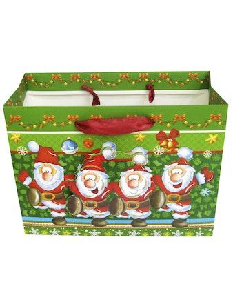 Подарочный пакет, 23 x 10 x 17,5 см