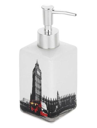 Дозатор для жидкого мыла Лондон, керамика, 250 мл