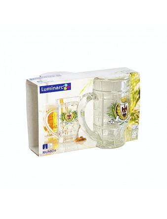 Набор кружек для пива МЮНХЕН 2шт 500мл