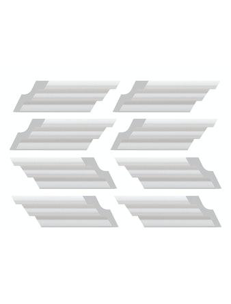 Элементы плинтуса для углового соединения C02/30