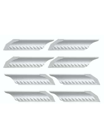 Элементы плинтуса для углового соединения C701/35