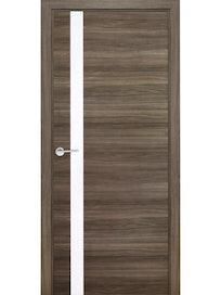 Дверное полотно Mario Rioli Solo 801DB, ламинированное, 2000 х 900 х 40 мм, королевский орех темный