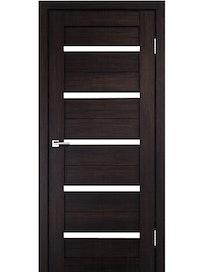 Дверное полотно Rig 10105УН, венге, 2000 х 600 х 40 мм