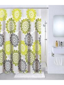 Штора для ванной MILARDO Flower lane, 180 х 200 см